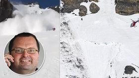 Resort českého miliardáře Radovana Vítka ve Švýcarsku zasáhla lavina.
