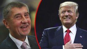 Andrej Babiš a Donald Trump se sejdou na začátku března