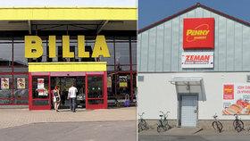 Antimonopolní úřad napařil tučnou pokutu supermarketům Billa a Penny Market