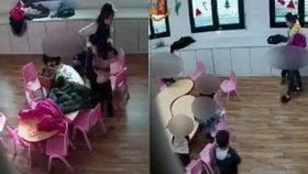Čínské učitelky mučily v mateřské školce malé děti.