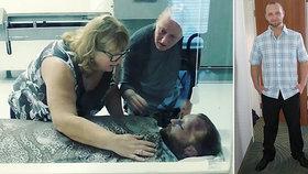 Andrew Jugler (†29) zemřel na předávkování drogami. Jeho máma zveřejnila poslední synovu fotku, aby varovala ostatní.