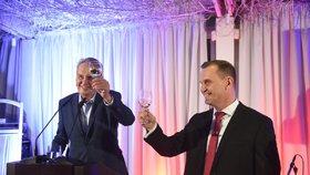 Padesátiny Jaromíra Soukupa: Přijel i prezident Zeman
