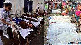 Počet mrtvých po otravě pančovaným alkoholem v indickém státě Ásám vystoupil na 84. Hospitalizováno bylo dalších 200 lidí, mnoho z nich ve vážném stavu.