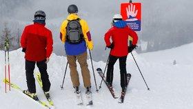 Rakousko chystá otevření lyžařských středisek