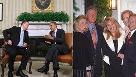 Do Bílého domu se naposledy podíval premiér Petr Nečas, hned několikrát tam byl za prezidenty USA Václav Havel
