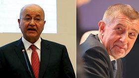 Jednání s iráckým prezidentem Barhamem Sálihem a libanonským premiérem Saadem Harírím má za sebou na úvod summitu Evropské unie a Ligy arabských států (LAS) český premiér Andrej Babiš.