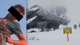 Obětí laviny v Alpách byl 27letý Čech.