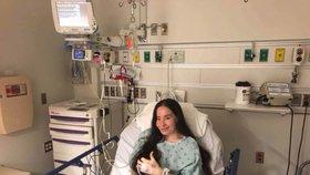 Ivanka před operací
