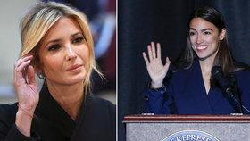 Alexandria Ocasiová-Cortezová se pustila do Ivanky Trumpové kvůli životnímu minimu.