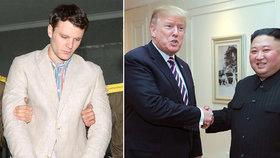 Kim Čong-un podle Trumpa nevěděl o mučení dvaadvacetiletého Otty Warmbiera, který po návratu z KLDR do USA zemřel.