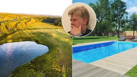 Kašlete na bazén, pořiďte si jezírko - expert chce lidi dohnat k zodpovědnosti za klima