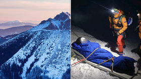 Česká lyžařka se zranila v Malé Fatře. Vyjeli pro ni čtyři záchranáři.
