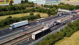 V roce 2019 budou pokračovat i opravy dálnice D1.