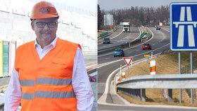 Stát chce letos zahájit stavbu 178 kilometrů dálnic a silnic, nejvíc na jihočeské D3.