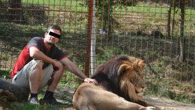 Muže ve Zděchově rozsápal lev: Zvíře chovali na černo.