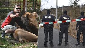 Pravda o smrti chovatele lvů Martina? Policie prozradila, co se ve skutečnosti stalo.