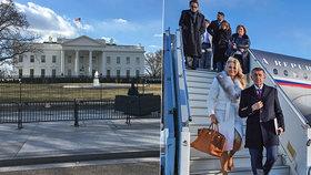 Andrej Babiš s manželkou Monikou se chystají do Bílého domu