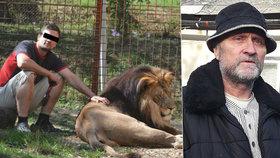 Podle otce mrtvého chovatele lvů šlo o úkladnou vraždu!