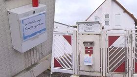 Nástražné výbušné zařízení, které podle policistů vyrobil zřejmě Graumann, zabilo 64letého lékaře. Na jeho domě visí upozornění, že již neordinuje.