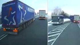 Nebezpečně předjížděl s kamionem. V Německu hrozí Čechovi i doživotí
