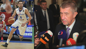Trapas Babiše v USA: Česká hvězda v NBA Satoranský se s ním odmítl sejít