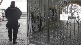 Policejní razie v Brně.