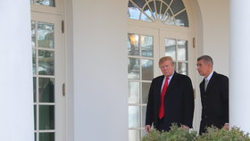 Donald Trump a Andrej Babiš během návštěvy českého premiéra v Bílém domě