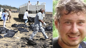 Martin zahynul při tragédii v Etiopii.
