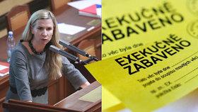 Exministryně školství Kateřina Valachová se vrhla na nové téma: exekuce. Uspořádala diskusi, kam pozvala nejen soudce a advokáty, ale také dlužníky a věřitele.