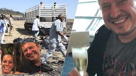 Přátelé a kolegové vzpomínají na poslední okamžiky, které strávili s Martihem Hrnkem před tím, než zahynul při letecké havárii v Etiopii