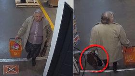 Seniorka odnesla ze záchodů cizí kabelku, poznáte ji?
