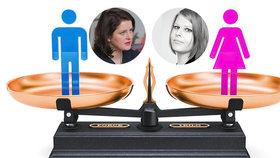 V Česku stále panuje genderová nerovnost. Pomůže ministryně Maláčová?