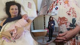 Středočeská hejtmanka Jaroslava Pokorná Jermanová se stala podruhé maminkou. V benešovské nemocnici přivedla na svět dceru Emu.