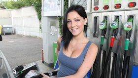 Tankování benzinu (ilustrační foto)