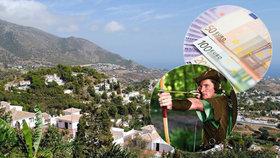 """Vesnice ve Španělsku řeší svého """"Robina Hooda"""". Záhadný člověk rozdává náhodným lidem peníze."""