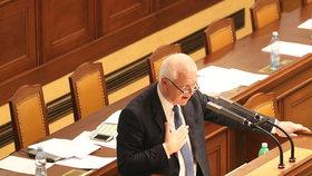 Ve Sněmovně řešili kauzu mýtného tendru a zapojení Jaroslava Faltýnka (ANO) (14.3.2019)