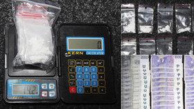 Policie čapla dealera. Kokain měl prodávat i sportovcům.