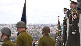 Připomínka výročí okupace nacisty
