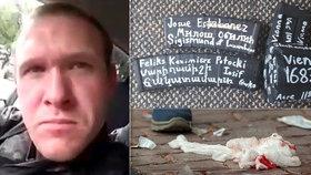 Australan Brenton Tarrant se přihlásil k útoku na novozélandské mešity, při kterých zemřelo 49 lidí. Zbraň si ozdobil jmény teroristů i historických osobností, objevil se tam i Zikmund Lucemburský, (15.03.2019).