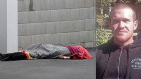Muslimy na Novém Zélandu vraždil trenér fitness Brenton Tarrant.