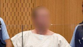 Teror na Novém Zélandu: Útočník Brenton Tarrant u soudu (16. 3. 2019)