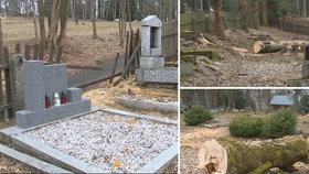 Vandalové poničili hroby