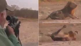 Nechutný lovec zastřelil spícího lva.