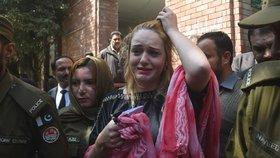 Pašeračka Tereza v roce 2019 po rozsudku soudu, který jí napařil 8 let a 8 měsíců za mřížemi.