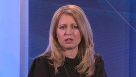 Zuzana Čaputová vystoupila v pořadu Interview ČT24 (21.3.2019)