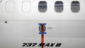 Letadlo Boeing 737 MAX 8.