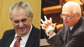 Miloš Zeman se zastal v mýtné kauze Jaroslava Faltýnka