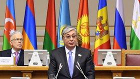 Nový prezident Kazachstánu Kasym-Žomart Tokajev