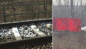 Kamarádky (†18 a †19) si lehly na Prostějovsku pod vlak a nechaly se přejet