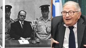 Zemřel muž, který unesl nacistickou zrůdu Eichmanna: Legendární agent Mossadu Rafi Eitan (†92)